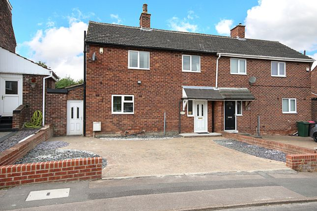 Thumbnail 3 bed semi-detached house for sale in Wesley Avenue, Swallownest, Sheffield