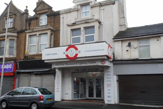 Thumbnail Commercial property for sale in Bond Street, Blackpool
