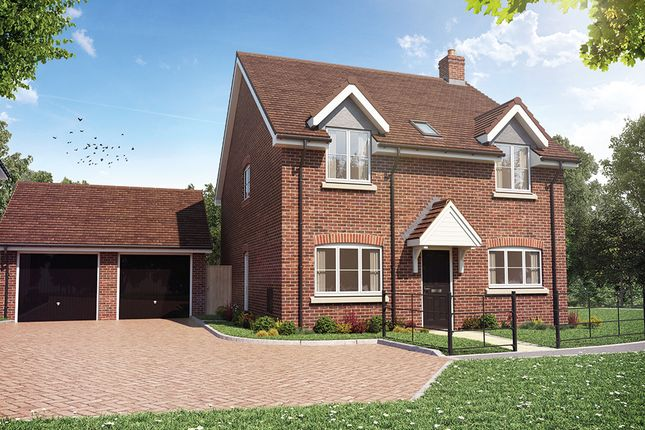 Thumbnail Detached house for sale in Sheldons Reach, Reading Road, Hook