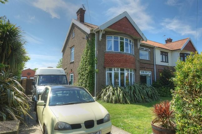 Thumbnail Semi-detached house to rent in Osborne Avenue, Great Yarmouth