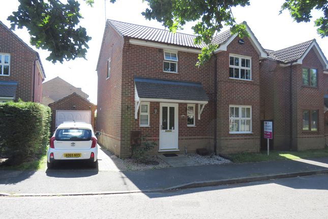 Thumbnail Detached house for sale in Bader Close, King's Lynn