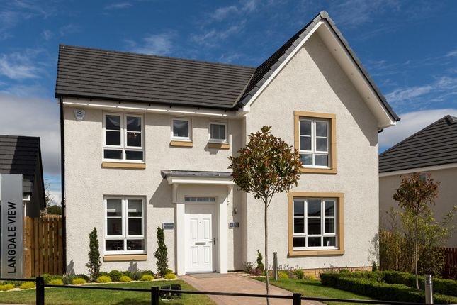 "Thumbnail Detached house for sale in ""Balmoral"" at Kildean Road, Stirling"
