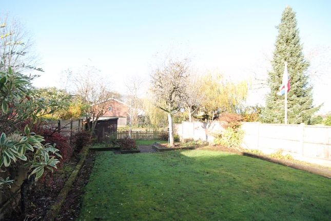 Rear Garden of Meadow Lane, Trentham, Stoke-On-Trent ST4
