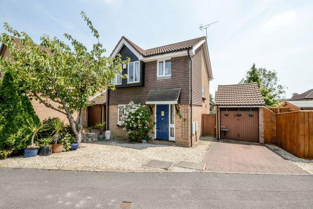 Thumbnail Detached house for sale in Thurney Drive, Grange Park, Swindon