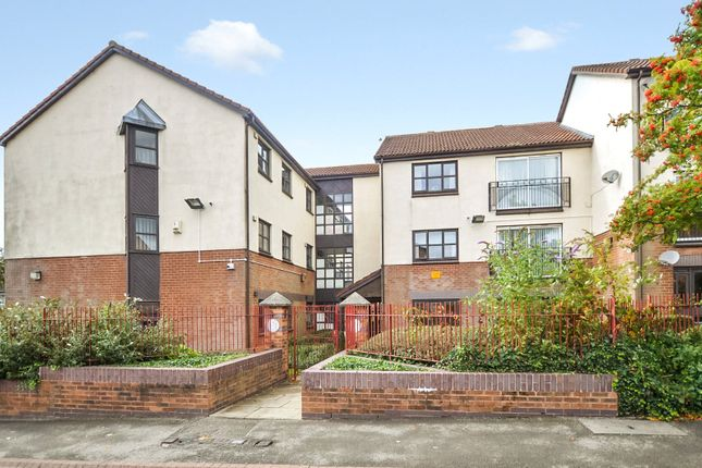 Thumbnail 2 bed flat for sale in Oakwell Court, Branwell Avenue, Birstall, Batley