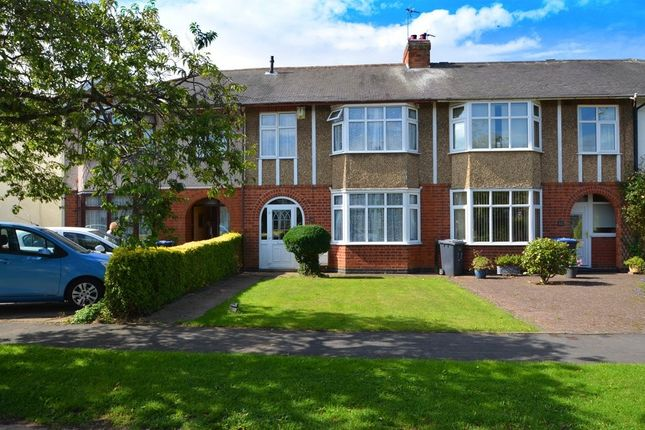 3 bed terraced house for sale in Vernon Avenue, Hillmorton, Rugby