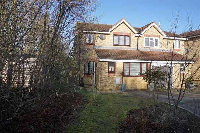 Thumbnail Semi-detached house for sale in Peppercorn Walk, Hitchin