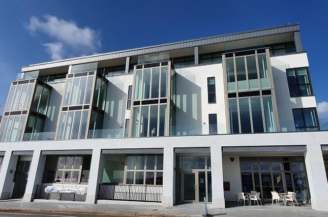 Thumbnail Flat for sale in Apartment 6, Rivage Apartments, Pier Street, Plymouth, Devon