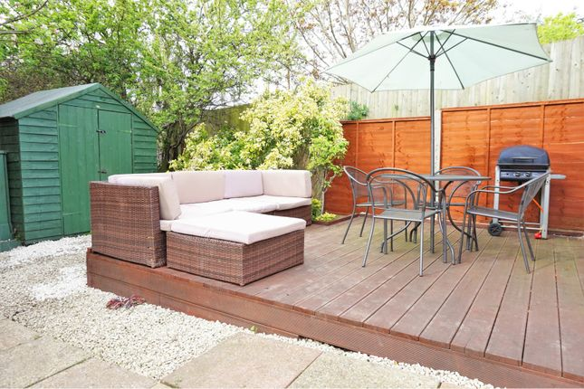 Decking of Station Crescent, Rayleigh SS6
