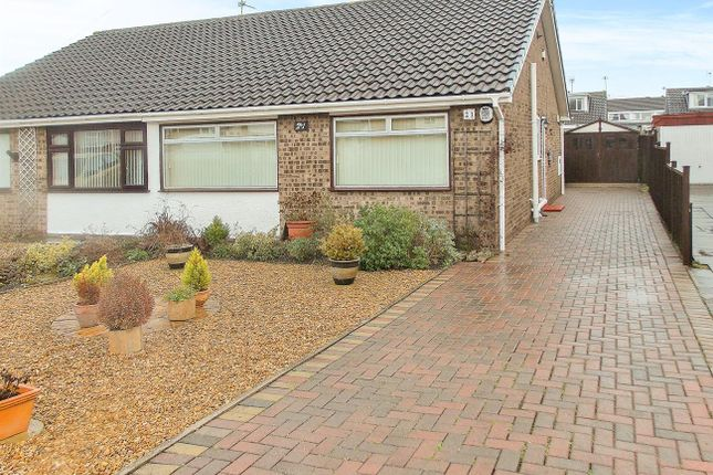 Thumbnail Semi-detached bungalow for sale in Thoresby Crescent, Draycott, Derby