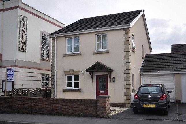 Thumbnail Detached house for sale in Tirydderwen, Cross Hands, Llanelli