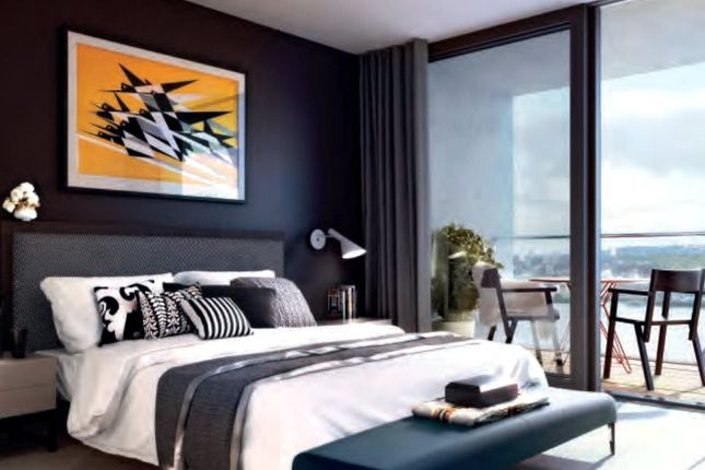 Thumbnail Flat for sale in Thameside House, Royal Wharf, London