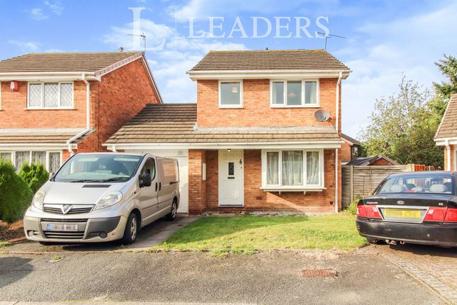 3 bed detached house to rent in Ledwych Gardens, Droitwich Spa, Worcestershire WR9