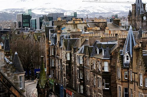 Thumbnail Flat to rent in Forrest Road, Edinburgh