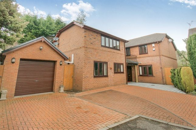 Thumbnail Detached house for sale in Woodfield Close, Marshfield, Cardiff