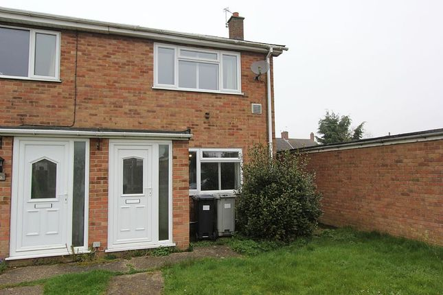 Thumbnail End terrace house for sale in Canberra Close, Coningsby, Lincoln, Lincolnshire