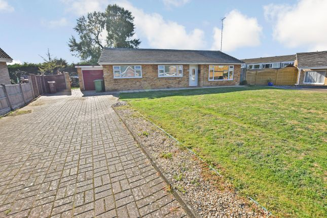 Thumbnail Detached bungalow for sale in Monksgate, Thetford, Norfolk