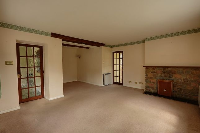 Living Room of English Bicknor, Coleford, Gloucestershire. GL16