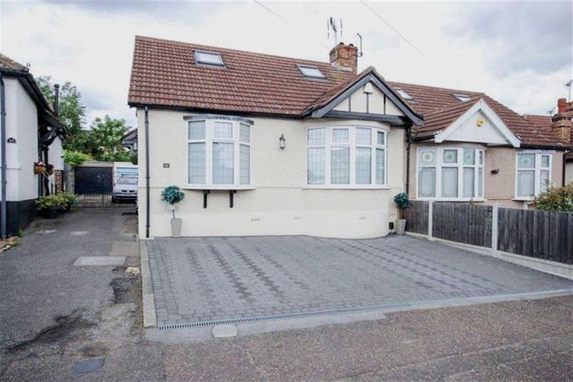 Thumbnail Semi-detached bungalow for sale in Hawthorn Road, Buckhurst Hill