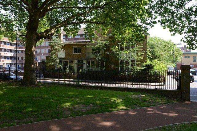 Exterior of Deans Buildings, London SE17