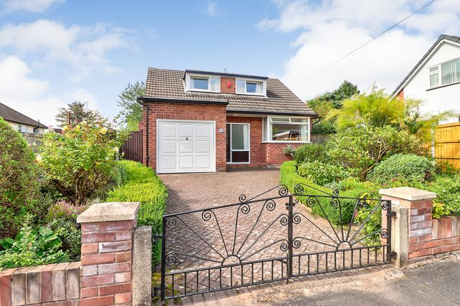 Thumbnail Detached bungalow for sale in Denhall Close, Chester