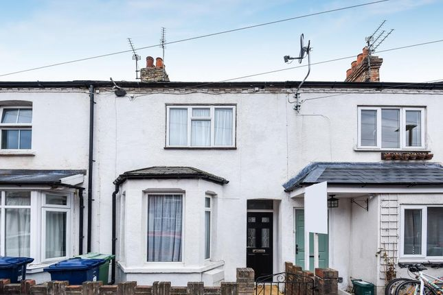 Thumbnail Terraced house for sale in Green Street, Oxford