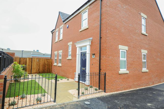 Thumbnail Detached house for sale in Lime Tree Park, Chesterfield