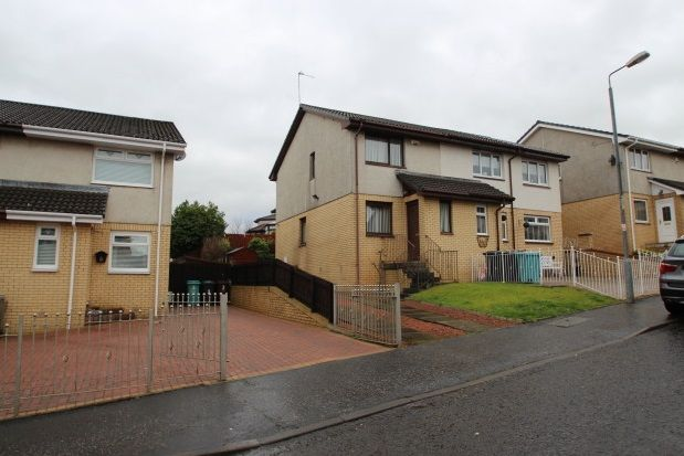 Thumbnail Semi-detached house to rent in Callander Road, Chapelhall, Airdrie