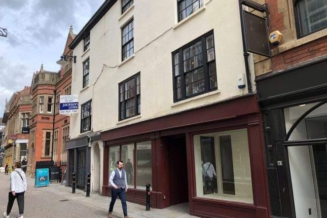 Thumbnail Retail premises to let in 39-41 Bridlesmith Gate, Bridlesmith Gate, Nottingham