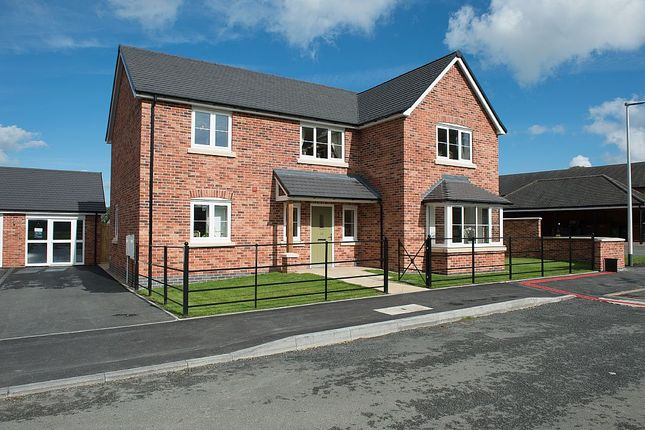 Thumbnail Detached house for sale in The Paddocks, Baschurch, Shrewsbury, Shropshire