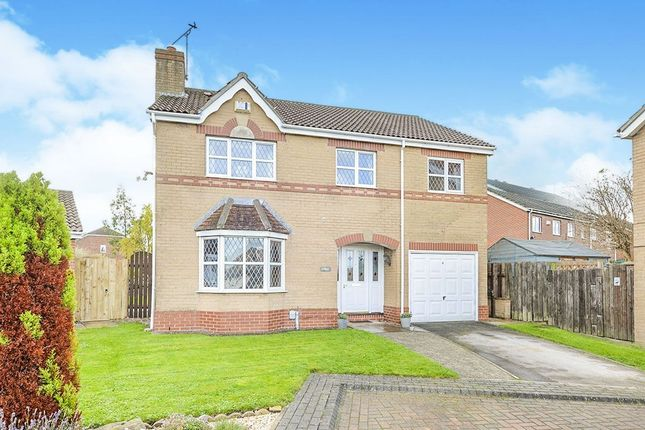 Thumbnail Detached house for sale in Bridge Close, Victoria Dock, Hull