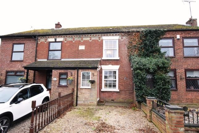Thumbnail Terraced house for sale in Church Road, Burgh Castle, Great Yarmouth