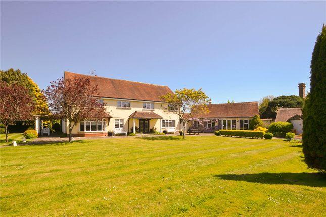 Thumbnail Detached house for sale in Hoe Lane, Flansham, Bognor Regis
