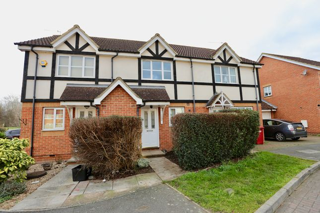 Thumbnail Terraced house to rent in Two Mile Drive, Cippenham, Slough