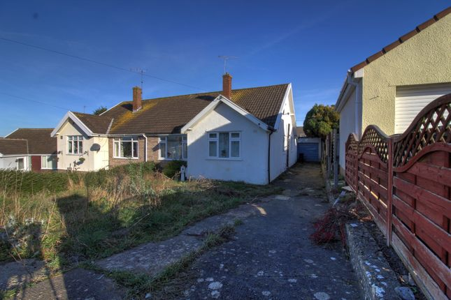 Thumbnail Bungalow for sale in Byron Close, Locking, Weston-Super-Mare