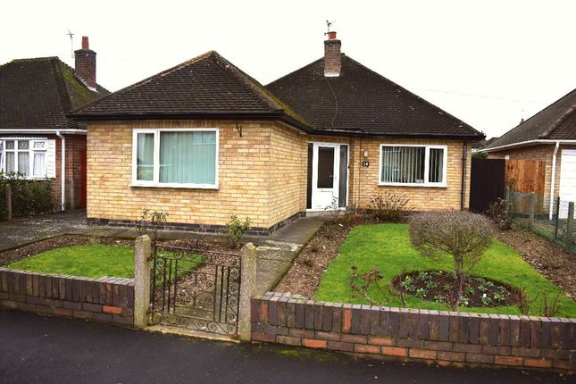 Thumbnail Bungalow for sale in Sandgate Avenue, Birstall, Leicester