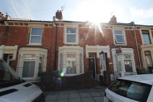 Thumbnail Terraced house to rent in Ringwood Road, Southsea
