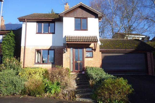 Thumbnail Detached house for sale in Henbury View Road, Corfe Mullen, Wimborne