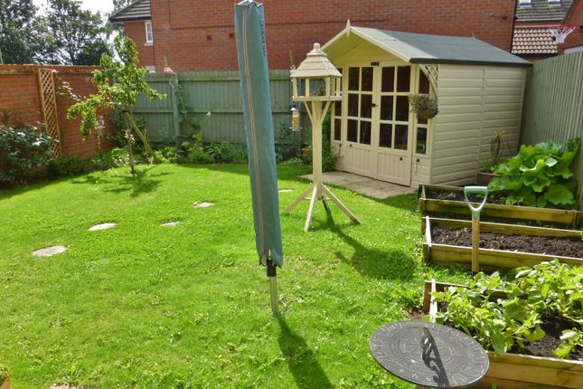 Rear Garden of John Clare Close, Oakham LE15