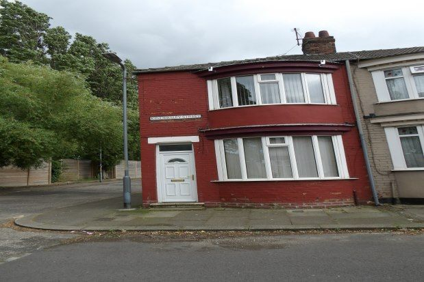 Thumbnail End terrace house to rent in Kindersley Street, Middlesbrough