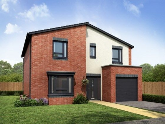 Thumbnail Detached house for sale in Plot 14, The Allerton, Hansons View, Kimberley, Nottingham