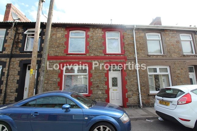 Thumbnail Terraced house to rent in Mount Pleasant Road, Ebbw Vale, Blaenau Gwent.