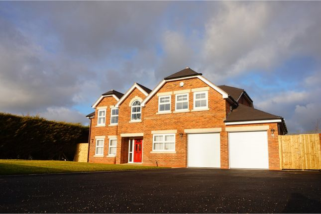Thumbnail Detached house for sale in Church Road, Ashley, Market Drayton