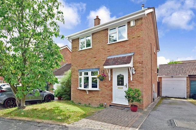 Thumbnail Detached house for sale in Graveney Close, Cliffe Woods, Rochester, Kent