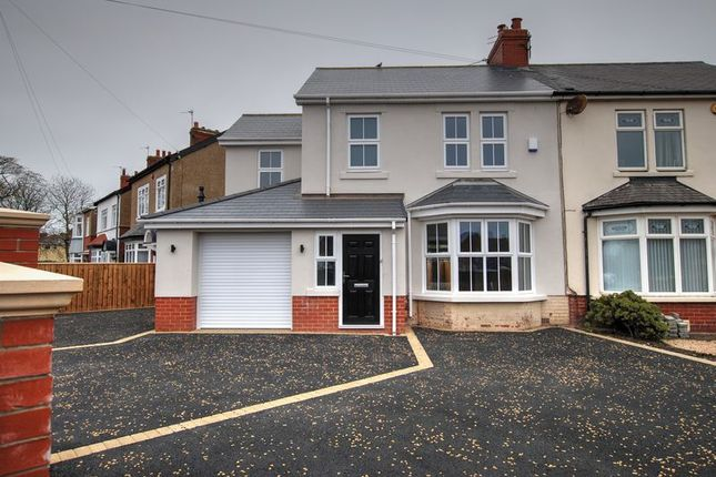 Semi-detached house for sale in Plessey Road, Blyth