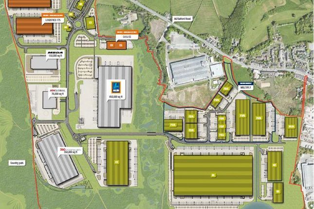 Thumbnail Light industrial to let in Logistics North, Over Hulton, Bolton, Lancashire