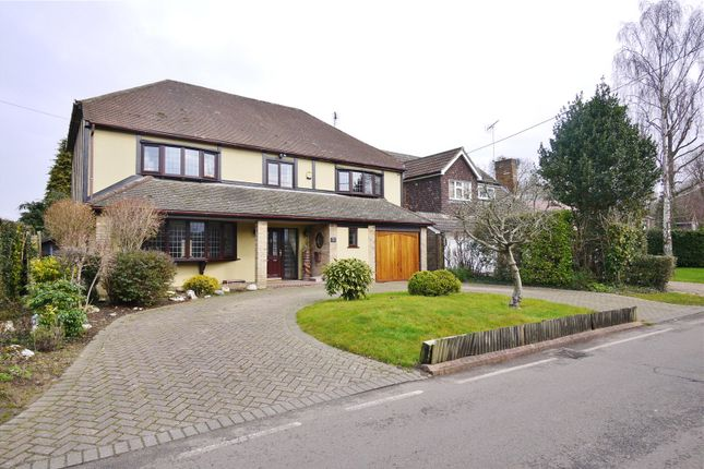 Thumbnail Detached house for sale in Hall Green Lane, Hutton, Brentwood, Essex
