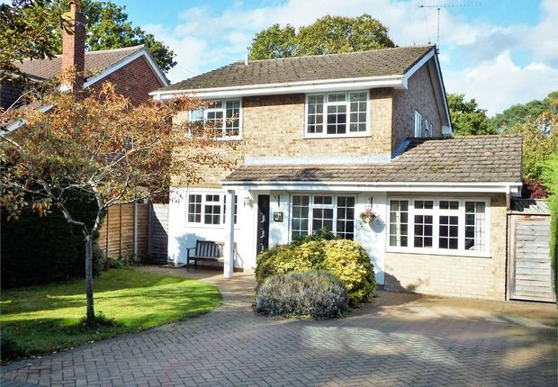 Thumbnail Detached house for sale in Chalfont Drive, Farnborough, Hampshire