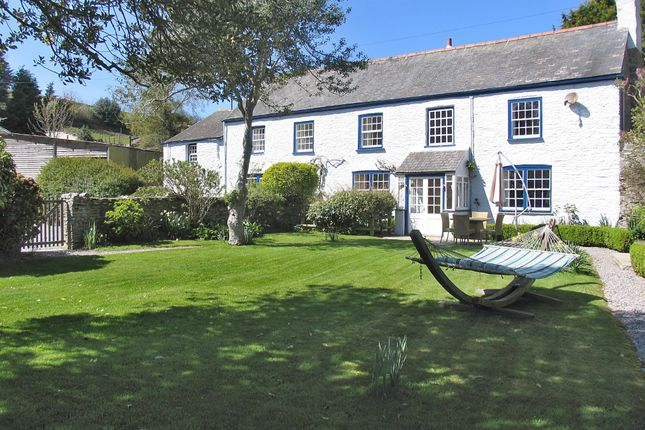 Thumbnail Farmhouse for sale in Cornworthy, South Devon