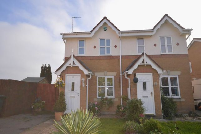Thumbnail Semi-detached house to rent in Penkridge Road, Church Gresley, Swadlincote